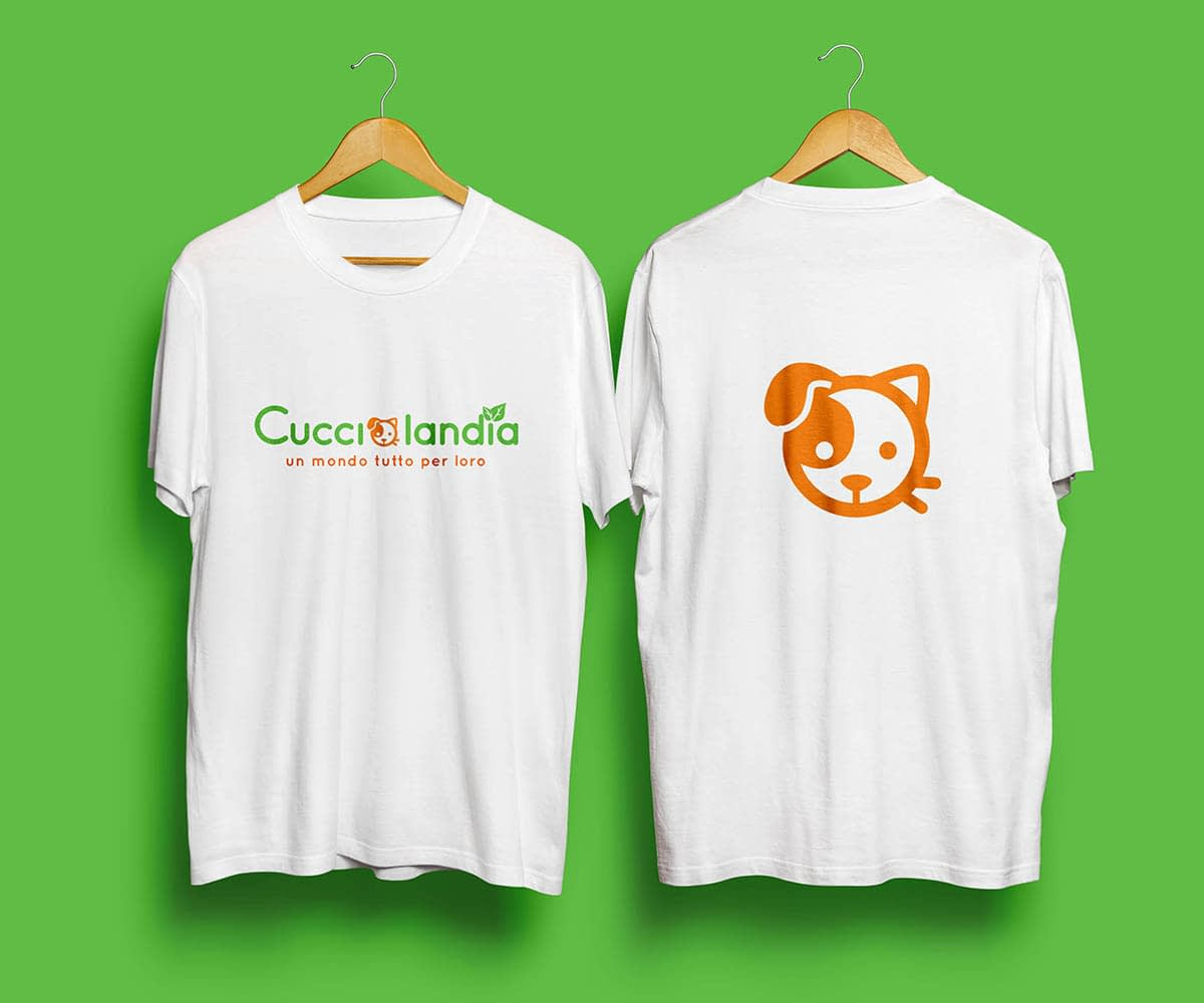 T shirt Cucciolandia